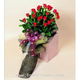 22 Red Roses Bouquet